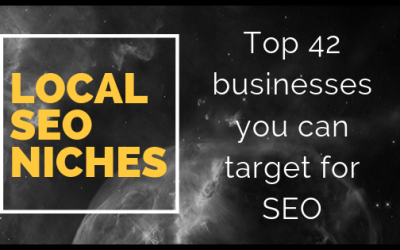 Local SEO Niches—top 42 business that you can target for SEO services
