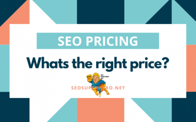 SEO Pricing: Whats the right price?