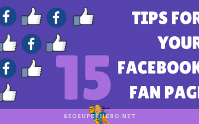 15 Tips For Your FaceBook Fan Page